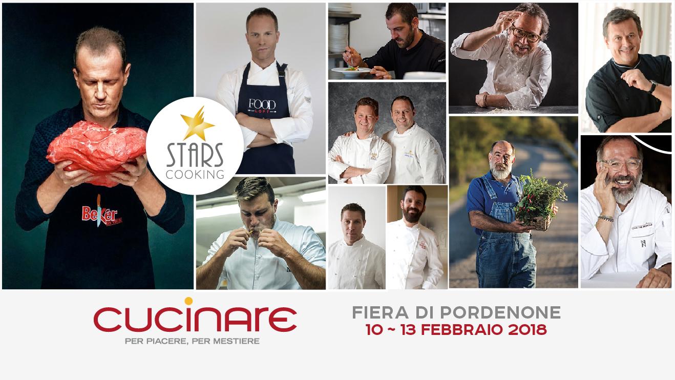 Stars cooking alla fiera cucinare fabrizio nonis for Cucinare 2018